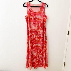 Liz Claiborne Dress Sleeveless Summer